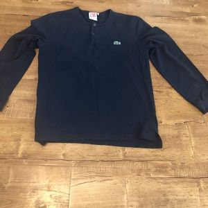 Lacoste Blue Long Sleeve